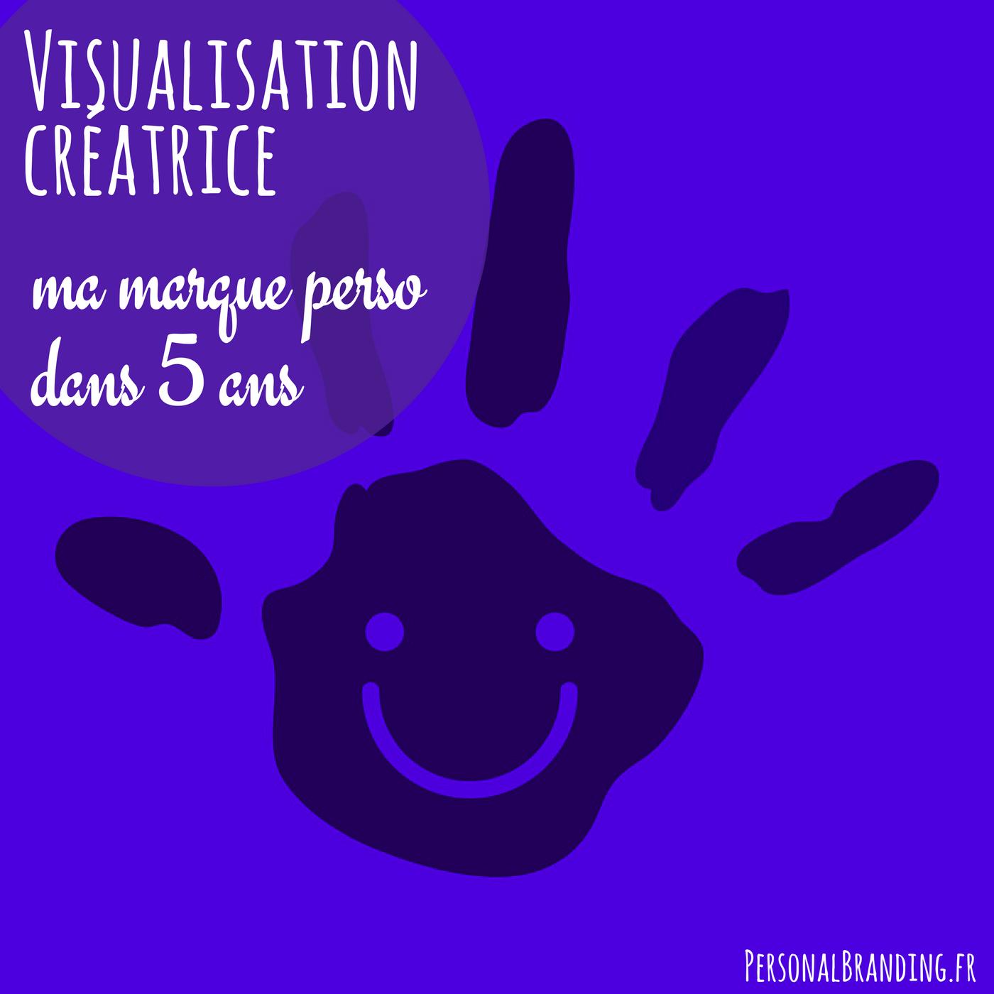 Visualisation créatrice Ma marque perso dans 5 ans